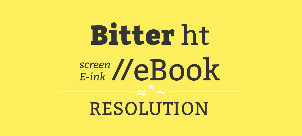 Bitter ht :: Huerta Tipográfica